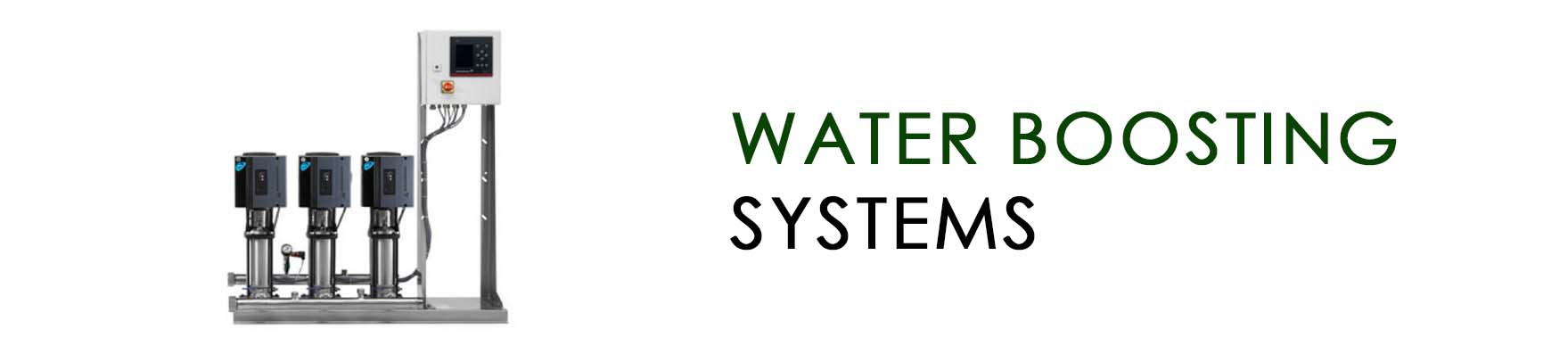 Water boosting systems BANNER