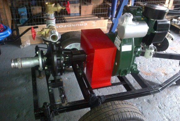 Diesel-Driven Pump Set